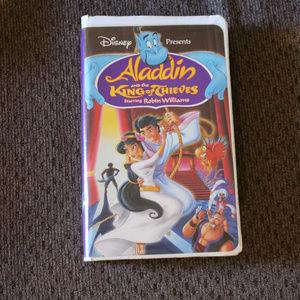 Aladdin & The King of Thieves VHS Aladdin 3